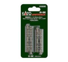 Kato #20-092 Fractional Track Set B- 33mm & 38mm- 8 pcs total