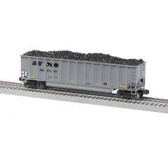 Lionel #2043270 Norfolk Southern B Pack - Rotary Gondola 4-Pack