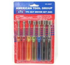 American Tool Group #30807 7 Piece Nut Driver Set