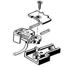 Kadee #1787 #1-Scale Coupler Medium Offset Couplers with Truck Mount Type Gear boxes