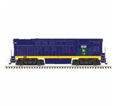 Atlas #10003534 H16-44 w/DCC/Sound - Jersey Central #19