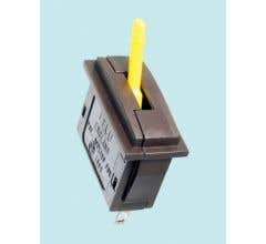 Peco #PL26Y Passing Contact Switch - Yellow Lever
