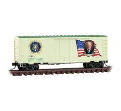 Micro Trains 07400146 Presidential Series #46 - J. Biden - Box Car