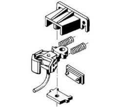 Kadee #791 G-Scale Coupler Large Offset Coupler & Centerset Coupler with Pilot Pocket Gear Box & Truck Mount Type Gear box