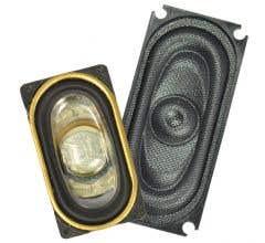 TCS #1704 UNIV-SH1-C Universal Speaker Housing for the TCS 35mm x 16mm Oval Speaker