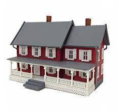 Model Power #782 Built-Up Buildings Lighted - Stevenson's House