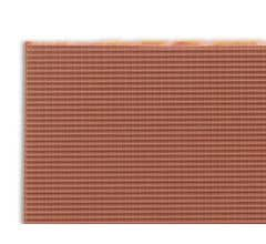 JTT #97464 Clay Tile Roof N-scale (1:200) 2/pk