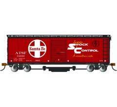 Bachmann #16324 Track Cleaning Box Car - SF- Shock Control