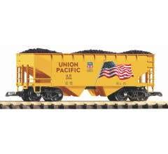 PIKO #38919 UP Rib Sided Hopper w/ Coal Load