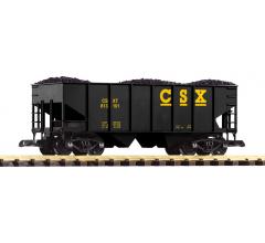 PIKO #38900 CSX Rib-Side Hopper Car with Coal Load
