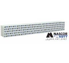 Walthers #949-3165 Wrapped Lumber Load for 72' Centerbeam Flatcar - Nascor