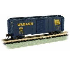 Bachmann #17063 Wabash - AAR 40' Steel Box Car