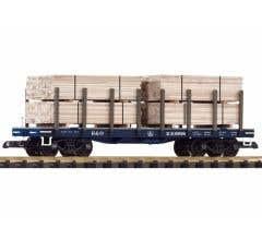 PIKO #38741 B&O Flatcar w/Lumber Load