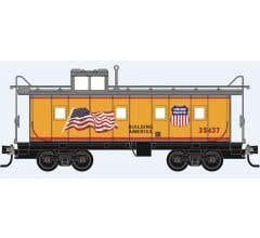 Micro Trains #10091014  Union Pacific Flag Caboose