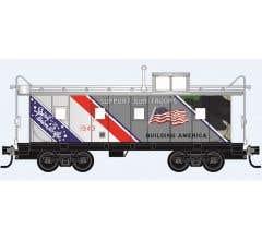 Micro Trains #10091015  Union Pacific Spirit 1943 Caboose