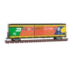 Micro Trains 10400080 N BNSF Anniversary Single Box Car