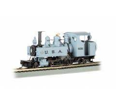 Bachmann #29502 USA #5091 2-6-2T Baldwin Class 10 Trench Loco w/DCC/Sound
