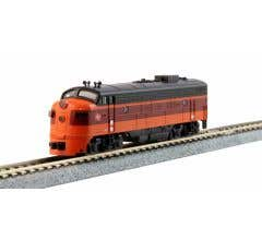 Kato #106-0430 N EMD FP7A & F7B Milwaukee Road- (2) Locomotive Set- #95A,& #95B Standard DC DCC Ready