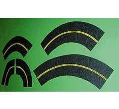 Leisuretime #406-103 Mini-Roadway Curves, 6', Assorted