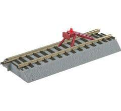 American Flyer #49866 FasTrack Straight Track with Lighted Bumper