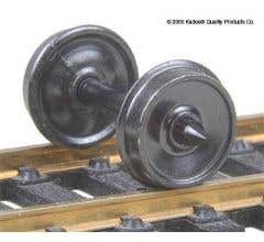 """Kadee #522 HO-Scale 36"""" Diameter smooth passenger and freight wheelsets"""