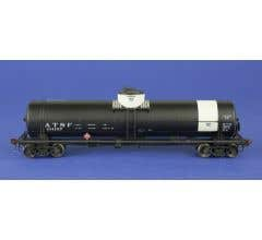 American Limited Models #1848 GATC Tank Car ATSF #101157 Gray band diesel fuel service early lettering