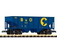 PIKO #38882 Chessie/B&O Rib Side Hopper