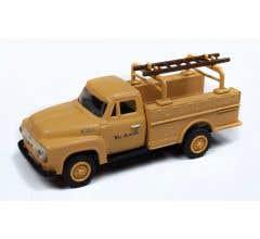 Classic Metal Works #30540 1954 Ford Hi-Rail Maintenance Truck - Denver & Rio Grande Western