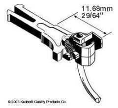 "Kadee #20 NEM 362 extra long coupler11.68mm (.460"")"