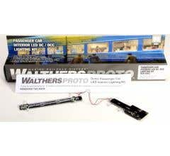 Walthers #920-1061 - Passenger Car Interior LED Lighting Kit fits ACF & Budd Dome Cars