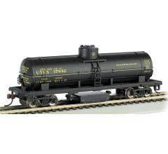 Bachmann #16302 Track Cleaning Tank Car UTLX Blk.