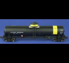 American Limited Models #1839 GATC Tank Car - ATSF #101304