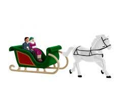 Lionel #1930230 People on Sleighs