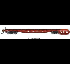 Bachmann #17351  52' FLAT CAR - ATSF #90852