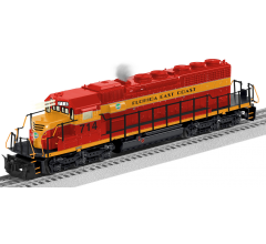 Lionel #1933093 Florida East Coast LEGACY SD40-2 #714 non powered(Built To Order)