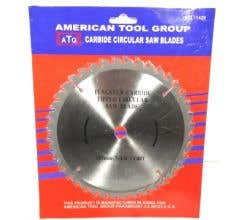 American Tool Group #11428 Carbide Saw Blade 7 1/4in