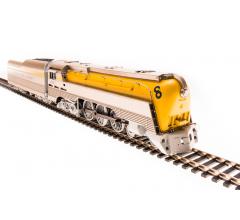 Broadway Limited #4556 Chesapeake & Ohio Class L-1 Hudson #492 Later Yellow Boiler