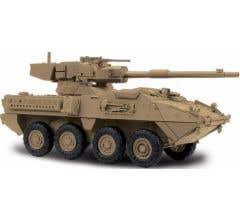 MTH #23-10006 Stryker Fighting Vehicle (Desert) 1/48