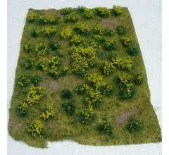 "JTT #95605 Flowering Meadow- Yellow 5"" x 7"" Sheet"