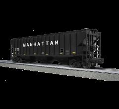 Lionel #1801085 Manhattan - PS-2 Covered Hopper (Custom TrainWorld)