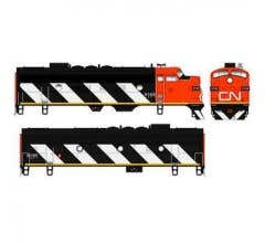 Bowser #24043 F-7 A&B Unit w/DCC & Sound - CN #9154/9197