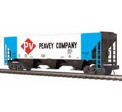 MTH #20-97380 PS-2CD High-Sided Hopper Car - Peavey Company