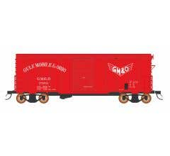 "InterMountain #38613 1937 AAR 10'6"" Boxcar - Gulf Mobile & Ohio"