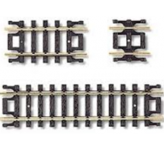 Atlas #2509 Code 80 Straight Track Assortment Includes Four- 1 1/4 Two- 2 1/2 Four- 5/8
