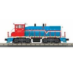 MTH #30-20836-1 SW1500 Diesel Switcher w/Proto-Sound 3.0 - Long Island (Red/White/Blue - Trainworld) # 105