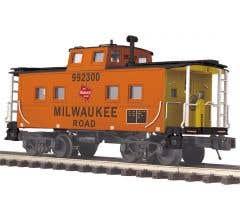 MTH #20-91717 Steel Caboose (Center Cupola) - Milwaukee Road