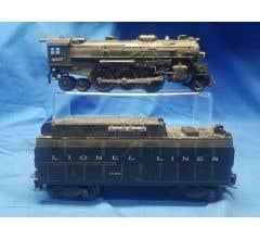 Lionel #LIO2037F Lionel Lines Steam Locomotive & Tender Road Number 2037
