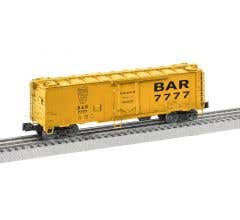 Lionel #2026072 BAR #7777 - 40' Plug Door Reefer
