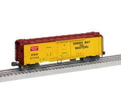 Lionel #2026081 Green Bay & Western #21002 - 40' Plug Door Reefer