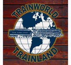 TrainWorld Aluminum Sign #TL1wood 12x12